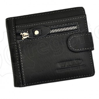 Wild Things Only Unique Leather Wallet Black-4367