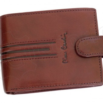 Pierre Cardin Man Leather Wallet Cognac-4787