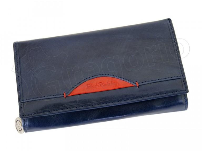 Renato Balestra Leather Women Purse/Wallet Blue Orange-5536