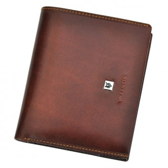 Leather Wallet Brown Valentini Gino-4357