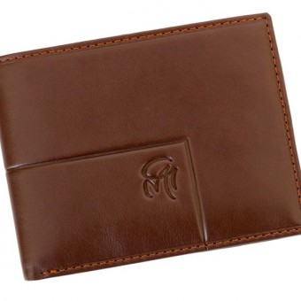 Gai Mattiolo Man Leather Wallet Brown-6338