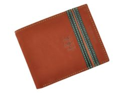 Harvey Miller Polo Club Man Leather Wallet Brown-5229