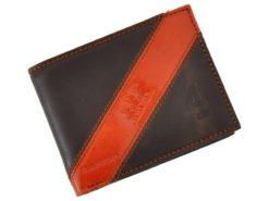 Harvey Miller Polo Club Man Wallet Dark Brown-4852