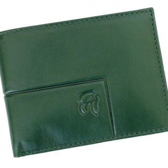 Gai Mattiolo Man Leather Wallet Green-6326
