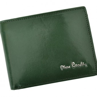 Pierre Cardin Man Leather Wallet Green-4750