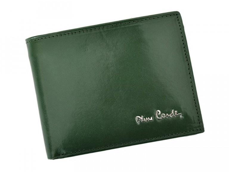 Pierre Cardin Man Leather Wallet Green-4750
