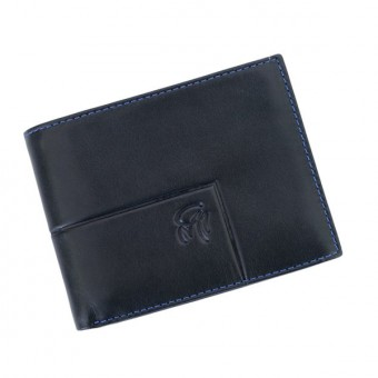 Gai Mattiolo Man Leather Wallet Blue-6238