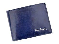 Pierre Cardin Man Leather Wallet Blue-4767