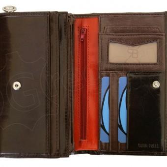 Renato Balestra Leather Women Purse/Wallet Blue Orange-5546