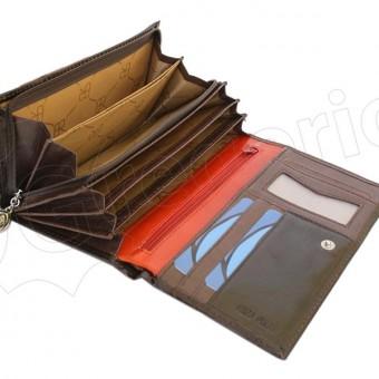 Renato Balestra Leather Women Purse/Wallet Blue Orange-5543