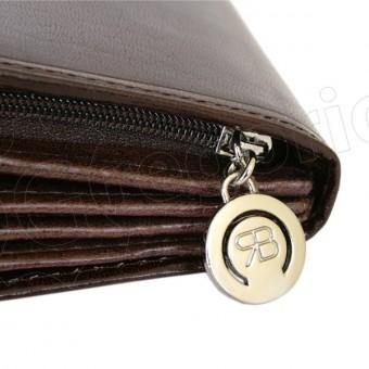 Renato Balestra Leather Women Purse/Wallet Blue Orange-5540