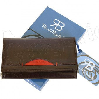 Renato Balestra Leather Women Purse/Wallet Blue Orange-5544