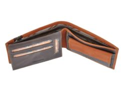 Harvey Miller Polo Club Man Leather Wallet Brown-5223