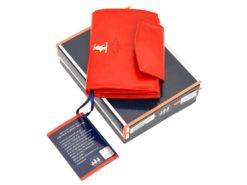 Harvey Miller Polo Club Women Leather Wallet/Purse Light Brown-5438