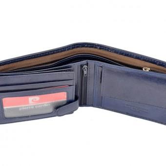 Pierre Cardin Man Leather Wallet Green-4745