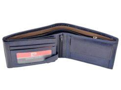 Pierre Cardin Man Leather Wallet Blue-4758