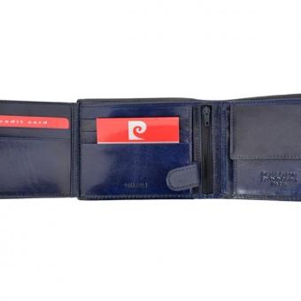 Pierre Cardin Man Leather Wallet Green-4748