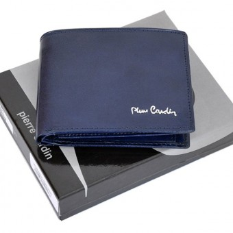 Pierre Cardin Man Leather Wallet Green-4753