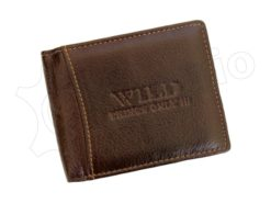 Wild Things Only Man Leather Wallet Brown IEWT5152/5509-7003