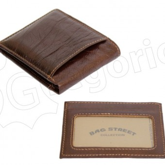 Wild Things Only Man Leather Wallet Brown IEWT5152/5509-7001
