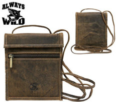 Passport Documents Holder Always Wild Brown-7075
