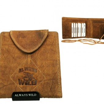Passport Documents Holder Always Wild Tan-7055