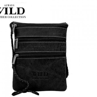 Passport Documents Holder Always Wild Black-7087