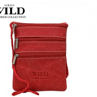 Passport Documents Holder Always Wild Red-7091