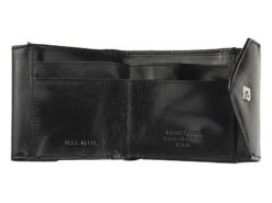 Pierre Cardin Unique Leather wallet small black-7110
