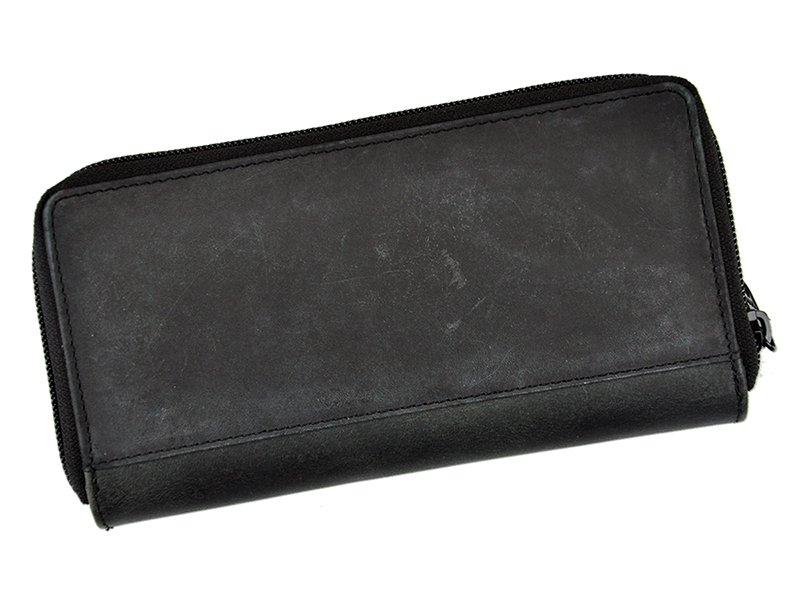 always wild women and man unique wallet tan and black