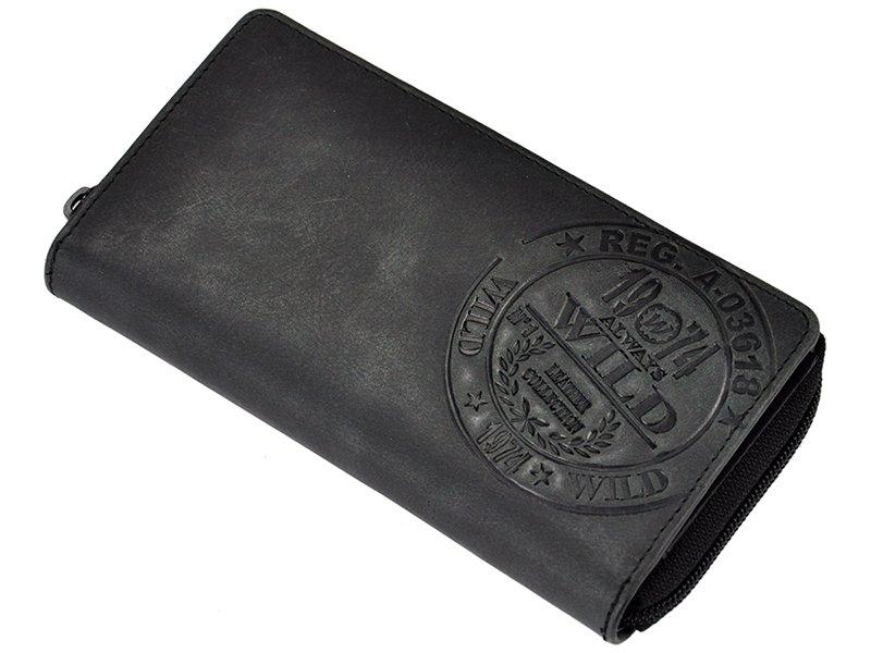 always wild women unique wallet tan � walletsie