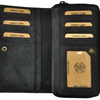Always Wild Women Unique Wallet Tan-7259