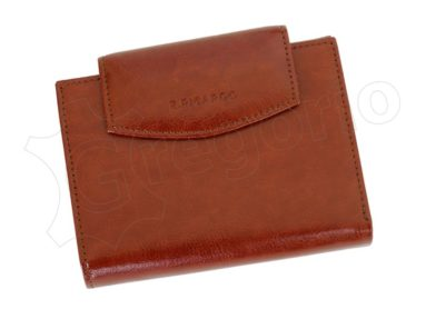 Z. Ricardo Woman Leather Wallet Light Brown-4554