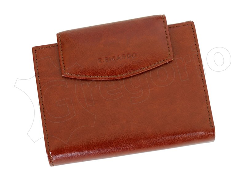 Z. Ricardo Woman Leather Wallet Light Brown-4554