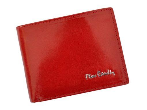 Pierre Cardin Man Leather Wallet Claret-4730