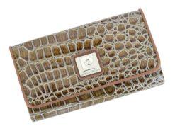 Pierre Cardin Women Leather Purse Beige-6099