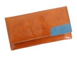 Renato Balestra Leather Women Purse/Wallet Orange Brown-5548