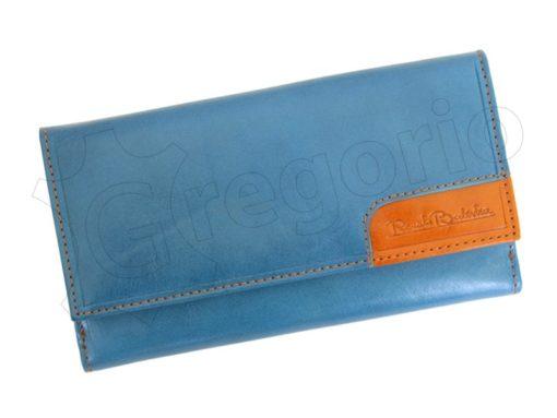 Renato Balestra Leather Women Purse/Wallet Orange Dark Brown-5584