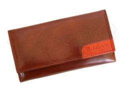 Renato Balestra Leather Women Purse/Wallet Orange Dark Brown-5582