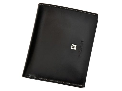 Leather Wallet Black Valentini Gino-4335