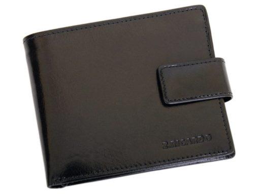 Z.Ricardo Man Leather Wallet Black-6603