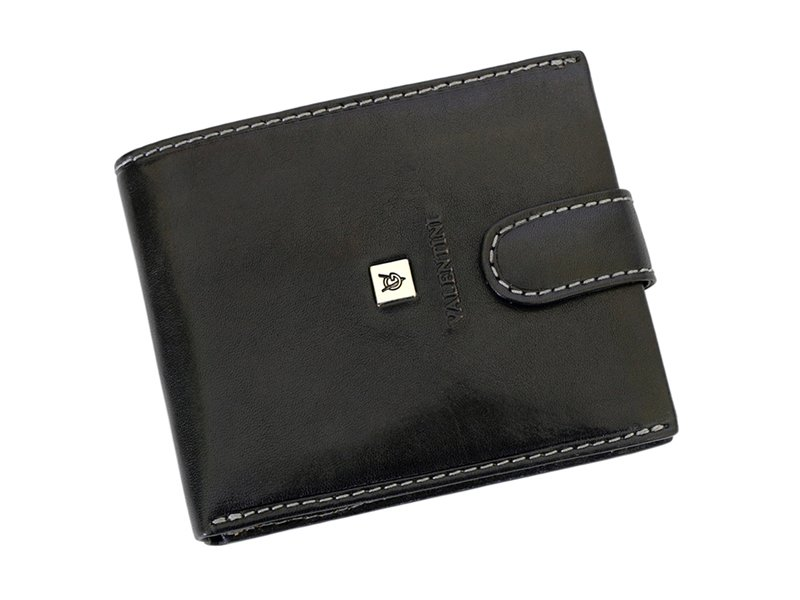Leather Wallet Black Valentini Gino-4304