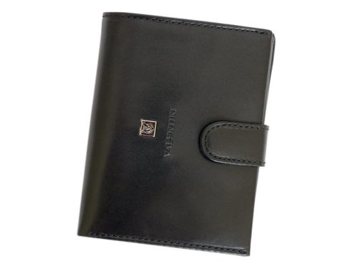 Gino Valentini Man Leather Wallet Brown-4523