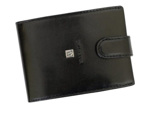 Gino Valentini Man Leather Wallet Black-6702