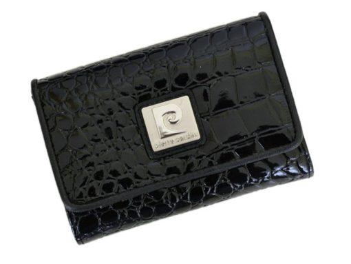 Pierre Cardin Women Leather Purse Medium Size Beige-6164