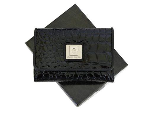 Pierre Cardin Women Leather Purse Medium Size Beige-6177