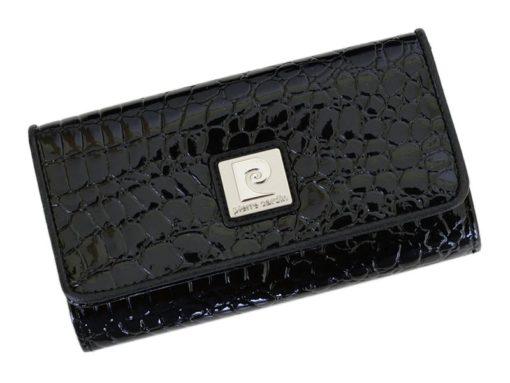 Pierre Cardin Women Leather Purse Black-6135