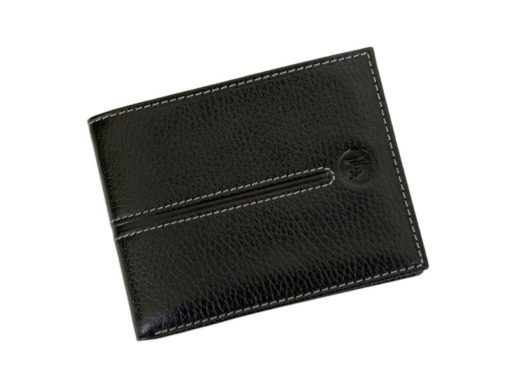 Gai Mattiolo Man Leather Wallet Black-6488