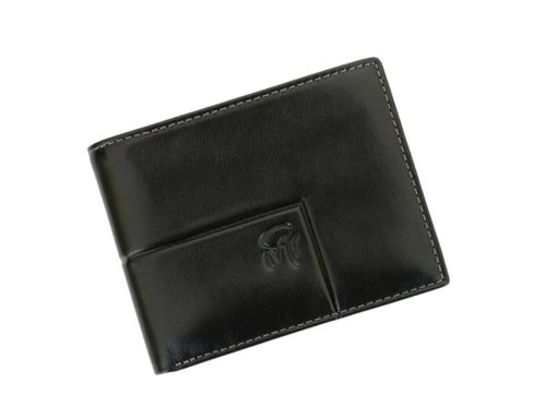 Gai Mattiolo Man Leather Wallet Black-6265