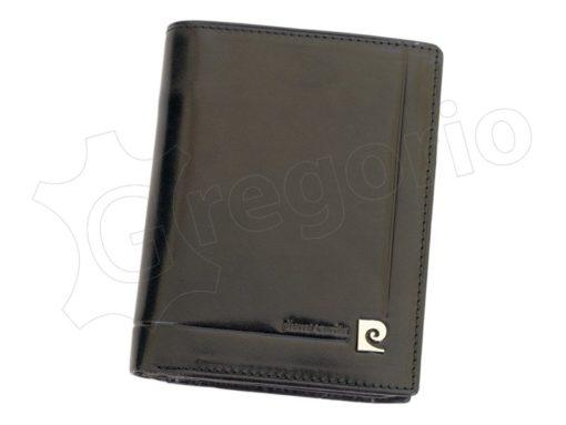 Pierre Cardin Man Leather Wallet Dark Brown-4933